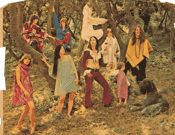 California Living, Week of October 8, 1967 (Chu in blue dress in front tow)