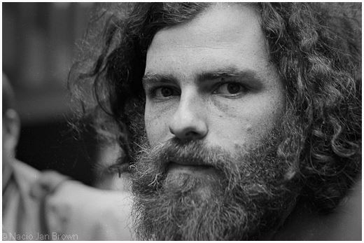 Jerry Rubin, Berkeley 1970. Photo: Nacio Jan Brown