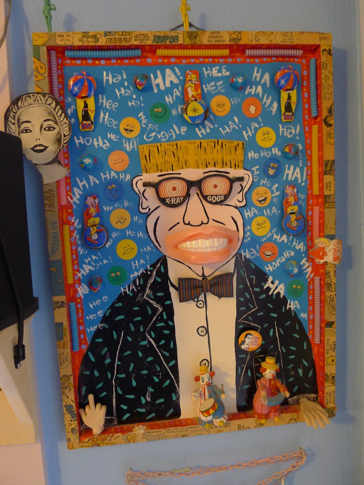 Art by Mikee LaBash, 1231 Curtis Street. Photo: Colleen Neff