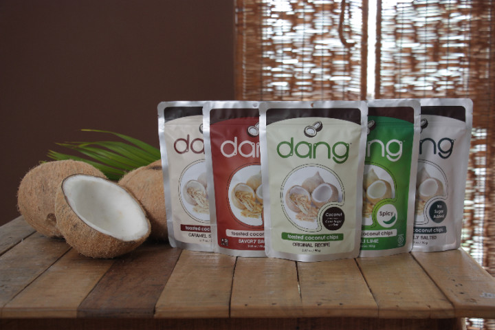 Dang coconut chips. Photo courtesy: Dang Foods