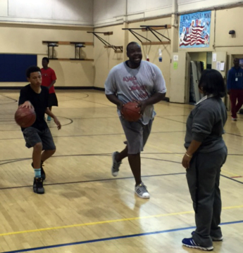 YAP's twilight basketball program winds up this weekend. Photo: BPD