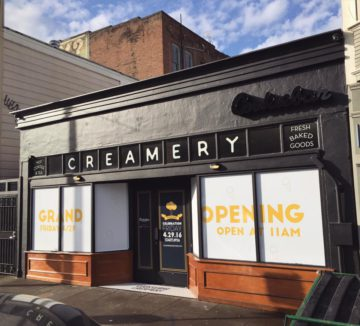 Cookiebar Creamery is located in an old Quickly on Eighth Street in Oakland. Photo: Cookiebar Creamery/Facebook