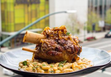 Smothered pork shank from Rooftop, now open in Walnut Creek. Photo: Rooftop/Facebook