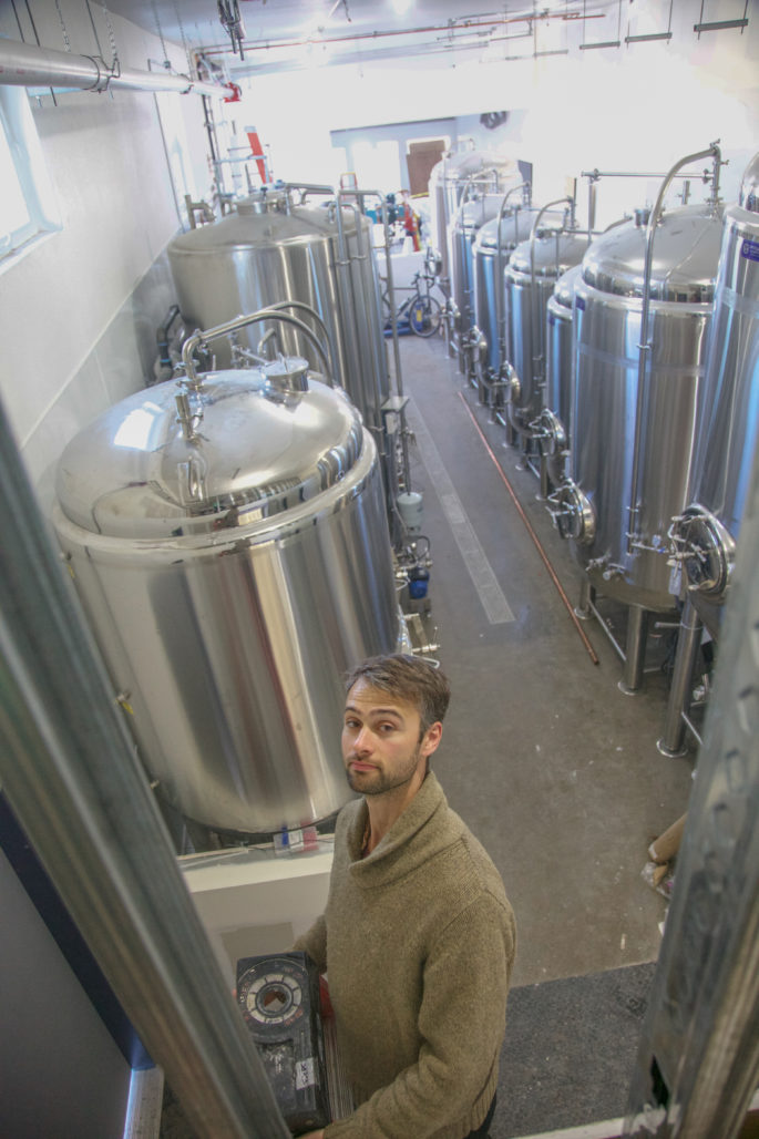 Wade Richey of Temescal Brewing. Photo: Temescal Brewing