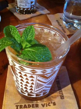 Mai Tai from Trader Vic's. Photo: Andrea Nguyen/Flickr