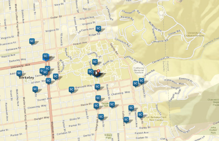 Sexual assaults around campus since Jan. 1. Source: CrimeMapping.com