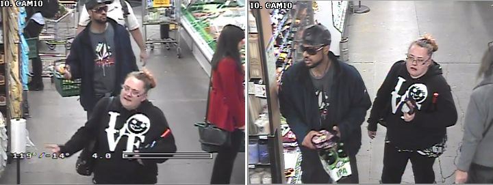 Police are asking for help to find this couple. Scroll down for details. Source: BPD