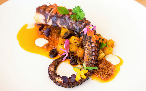 Octopus and chorizo from B&B Kitchen and Wine Bar. Photo: B&B
