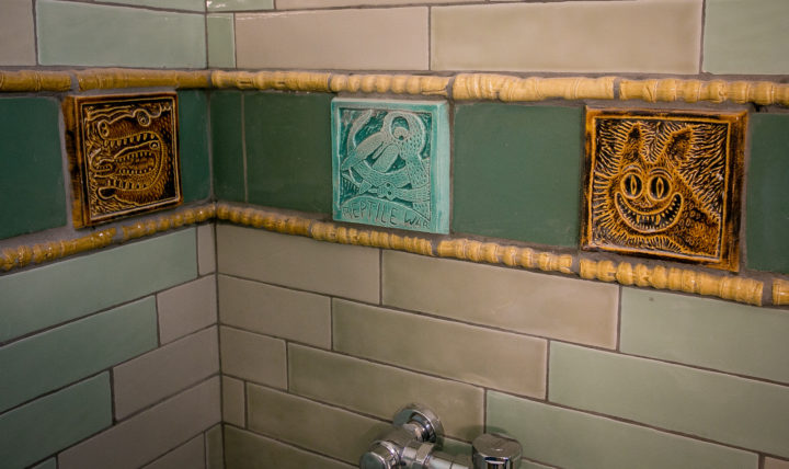 Bulwinkle tiles, 2454 Telegraph Avenue. Photo: John Storey