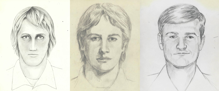 "Authorities are hoping the public can help identify ""a violent serial burglar, rapist, and murderer who terrorized multiple communities in California throughout the 1970s and 1980s."" Image: FBI"