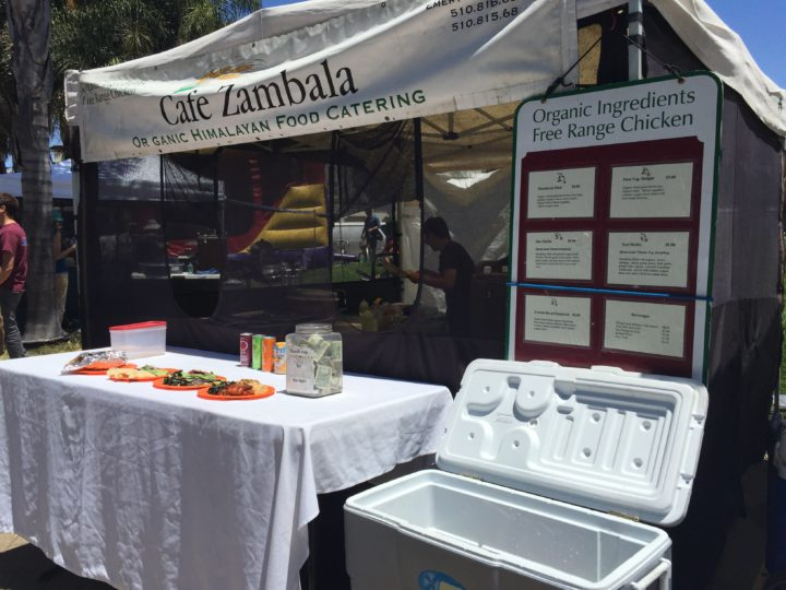 Cafe Zambala at the Grand Lake Farmers Market. Photo: Emily Laskin.