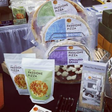 Passione Pizza dough products, which will be available at the Emporio. Photo: Passione Pizza/Facebook
