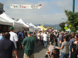 Photo: Downtown Alameda Art and Wine Faire