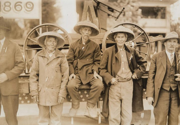 Chinese railway workers. Photo: Courtesy Chinese Historical Society of America Museum