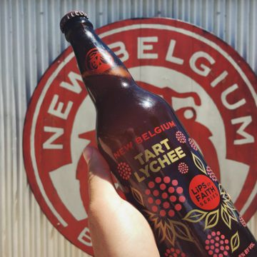 New Belgium's Tart Lychee will be on tap at the short film festival. Photo: New Belgium Brewing Company/Facebook