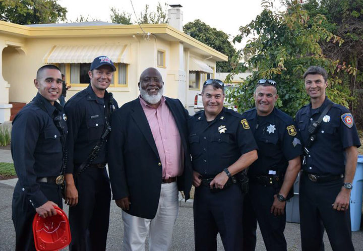 National Night Out, Aug. 2, 2016. Photo: Darryl Moore