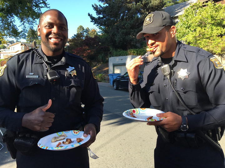 National Night Out, Aug. 2, 2016. Photo: Colleen Neff