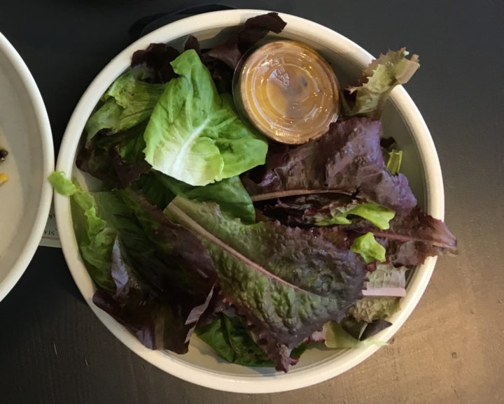 Garden lettuce salad from Standard Fare. Photo: Kate Williams