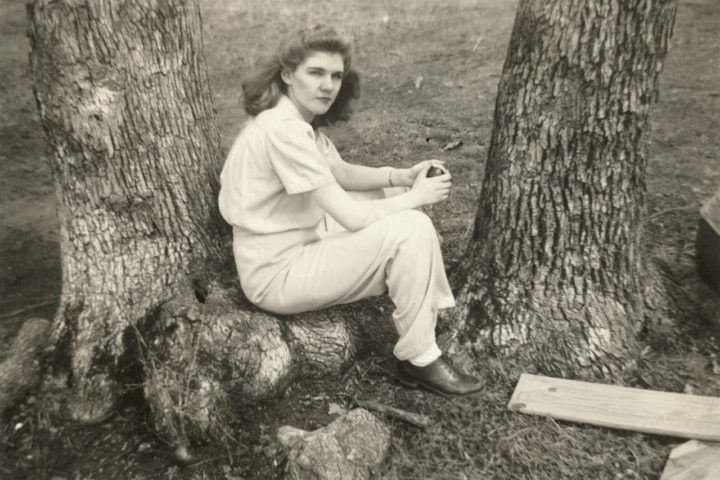 A photo of Bledsoe's aunt in her 20s. Photo: Lucy Jane Bledsoe
