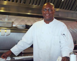 Rene Cage of Chef Rene's Kitchen and BBQ. Photo: Chef Rene's Kitchen and BBQ