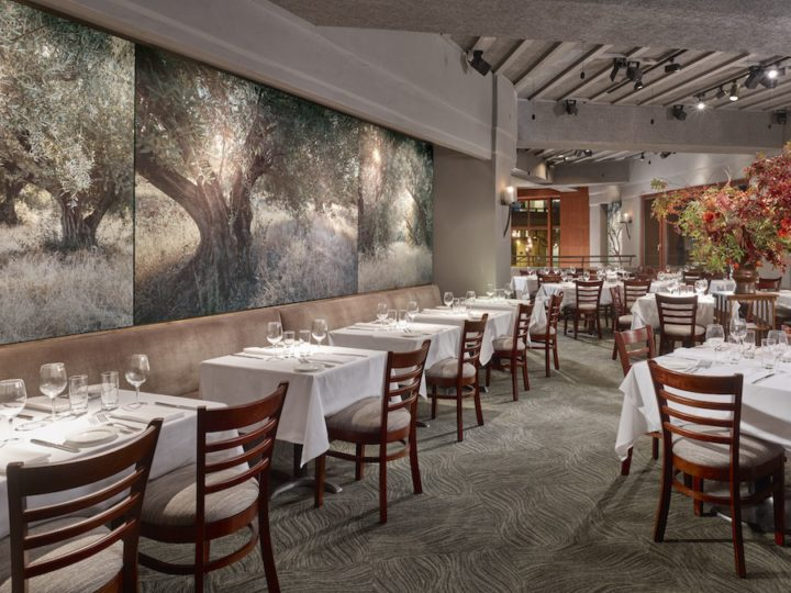 Oliveto dining room. Photo: Olivetto