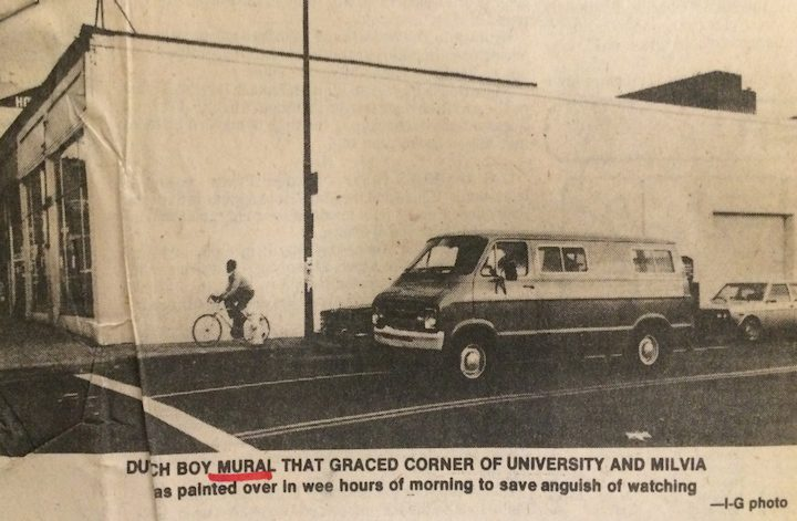 Clipping from Berkeley Public Library
