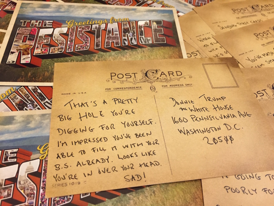 activist behind 1m postcards to trump campaign sets sights on paul