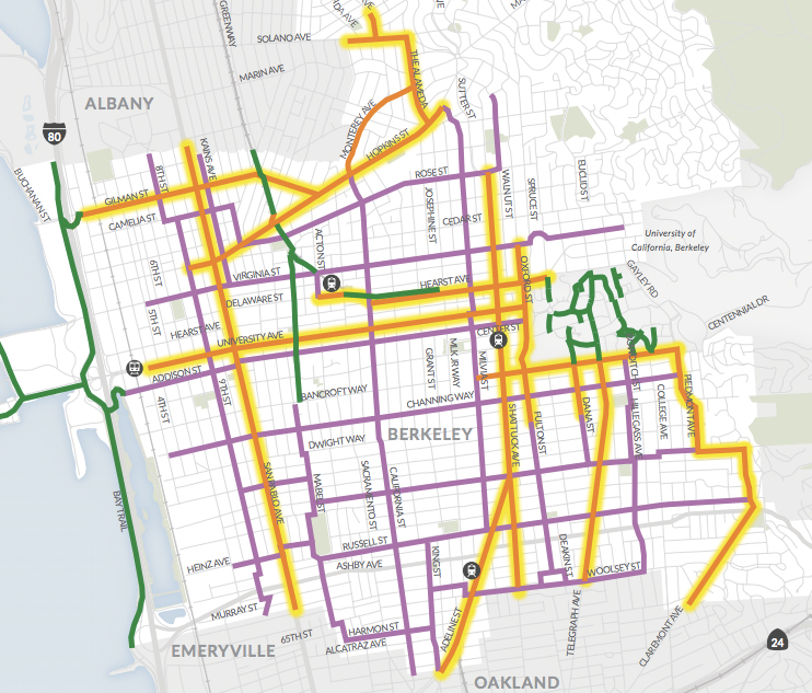 Officials approve 625M visionary bicycle plan Berkeleyside