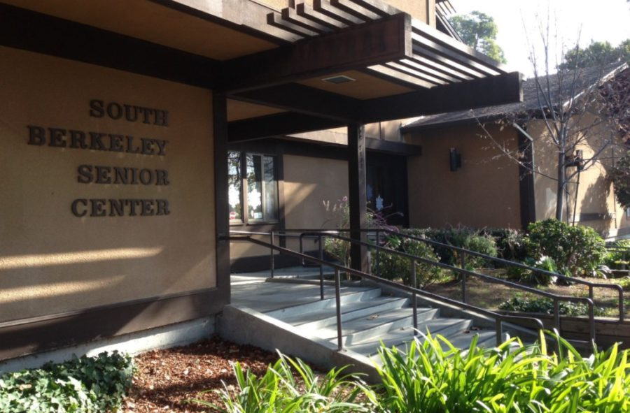 If a number of City Councilmembers have their way, the South Berkeley Senior Center, at xxx, will eventually have a new name. Photo: Carlo David