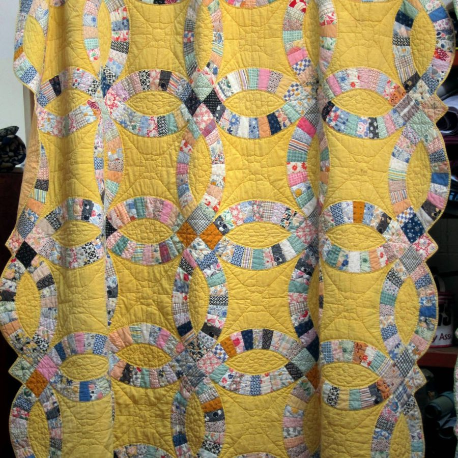 American Wedding Ring Quilts