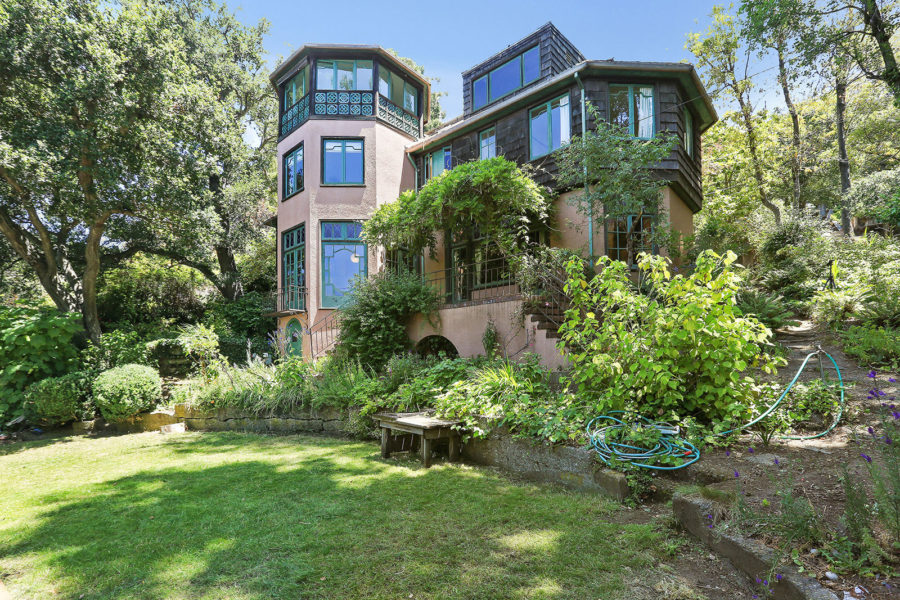 for sale: berkeley home of walter steilberg, architect and julia