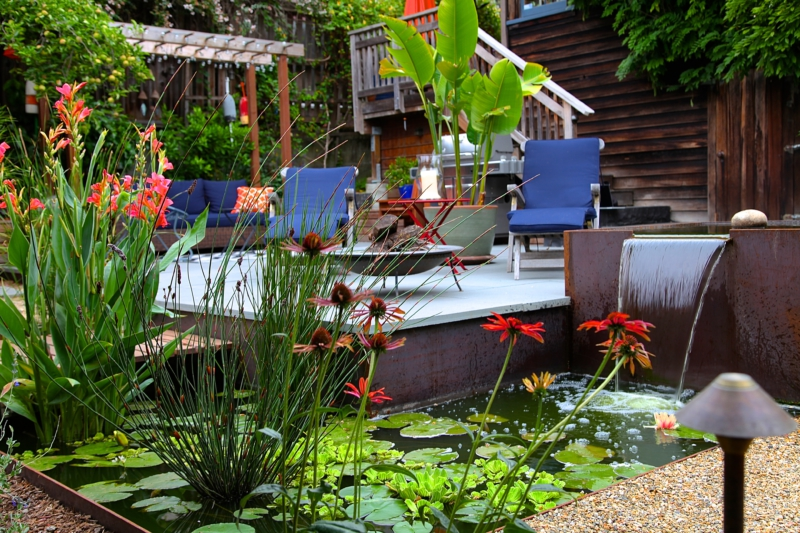 Local garden design firm creates urban retreat berkeleyside for Local garden designers