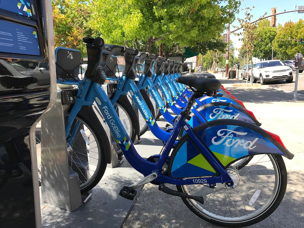 Berkeley gets its first bike share stations Berkeleyside