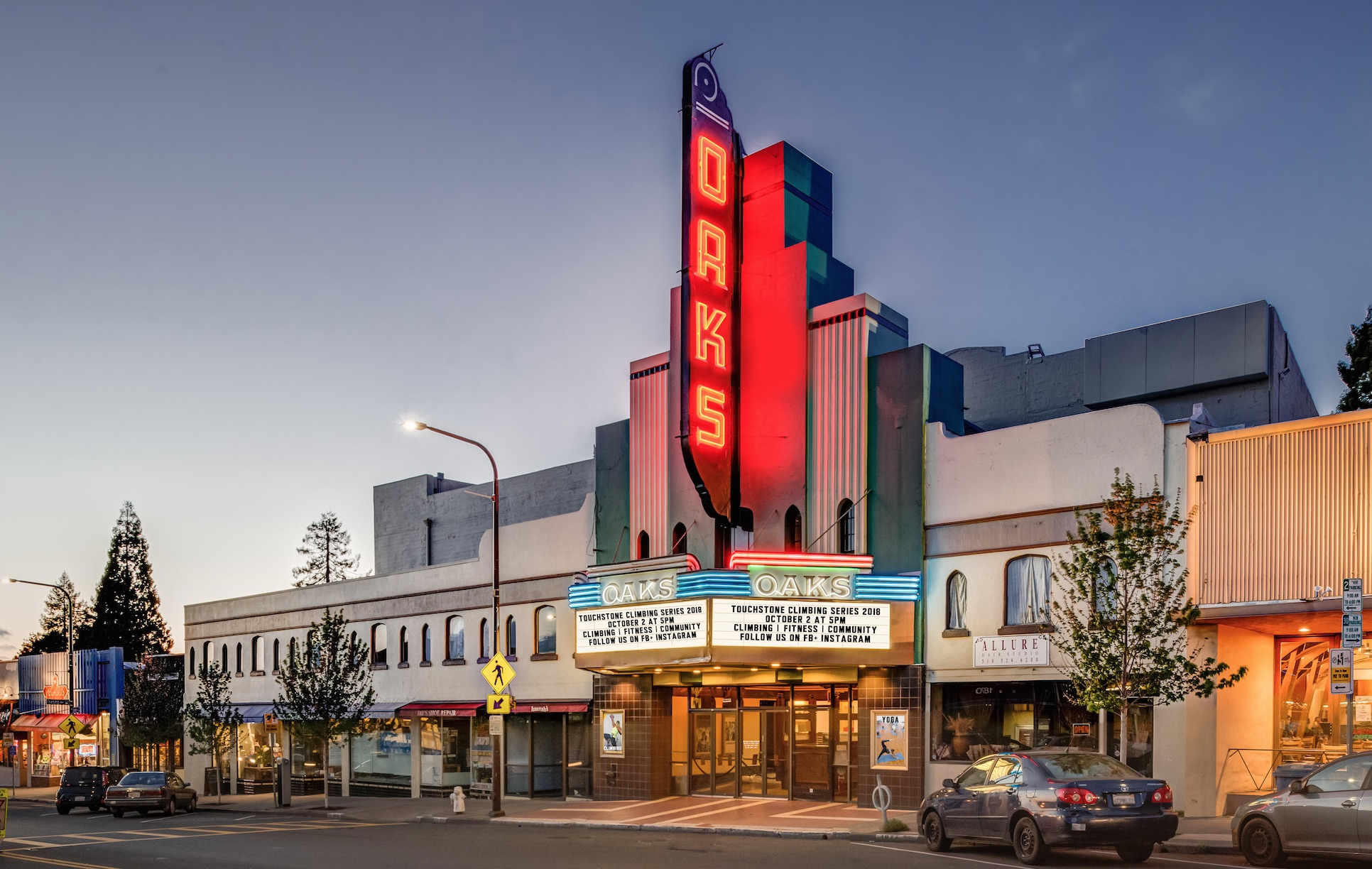 climbing company to buy berkeleys oaks theatre and turn