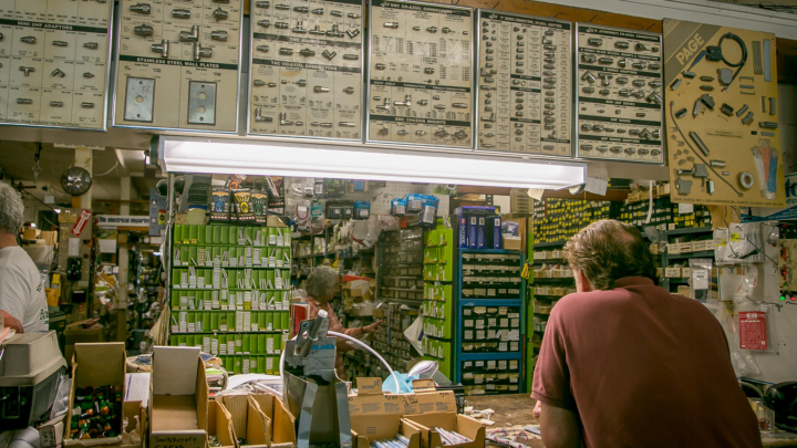 Lasher's Electronics. Photo: John Storey