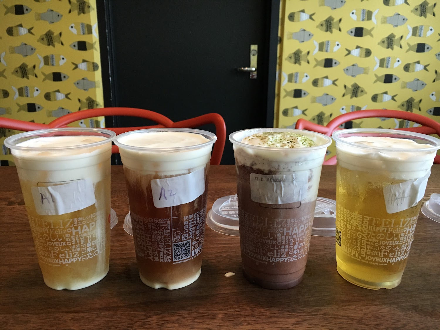 Every single salted cheese drink from Happy Lemon ranked