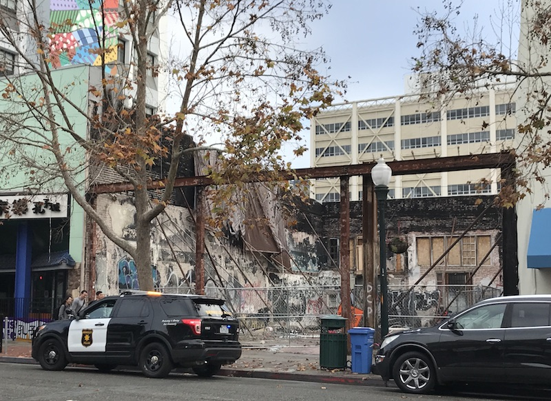 Two Years After Fire Downtown Berkeley Lot Is Both Safety