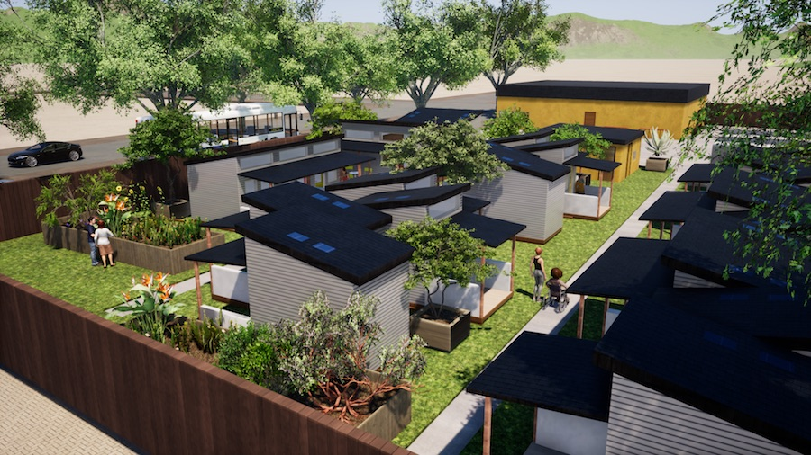 Plans underway for 39 tiny house village 39 in west berkeley for Tiny house kits california
