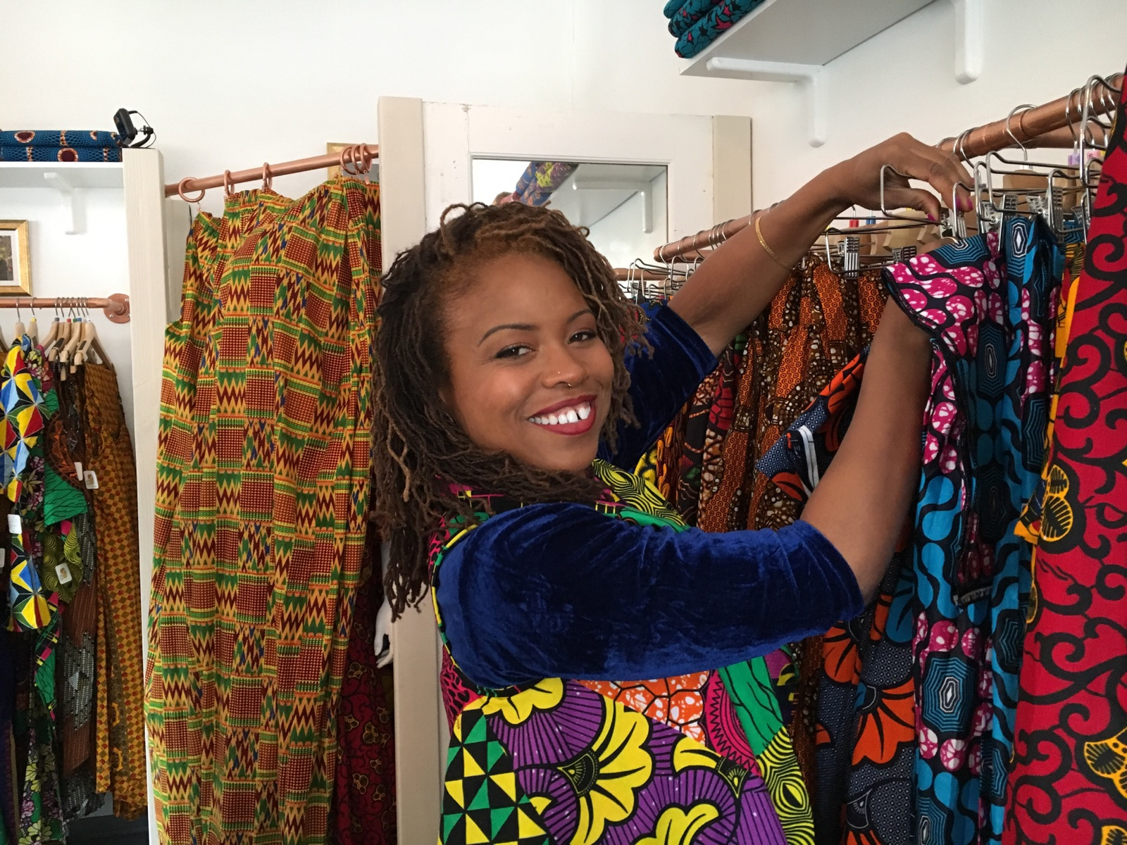 de2a4aedd4 Lola's African Apparel: 'I wanted to share Africa with people through  clothes' — Berkeleyside