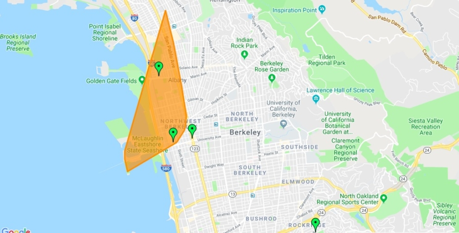 Update Power Restored After Outage For 3 000 In Northwest Berkeley