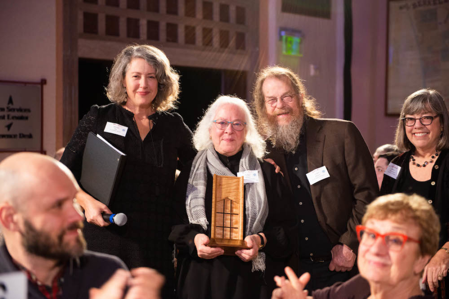 The Fred and Pat Cody Award was presented to Helen and John Meyer of Meyer Sound
