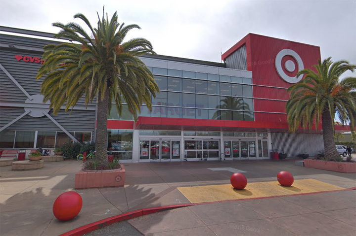 The Target store in Albany, California