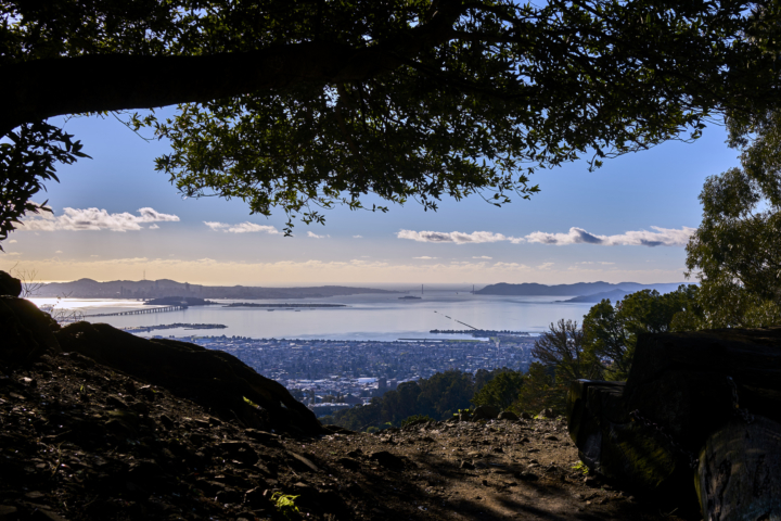 View of Berkeley from the hills