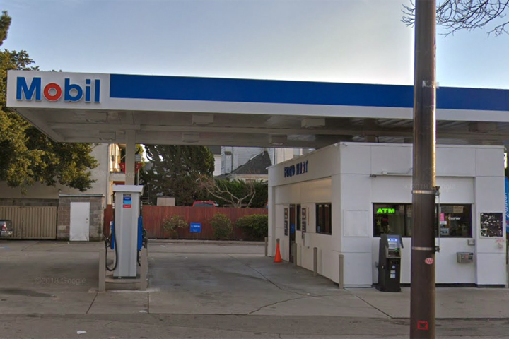 Thieves steal ATM from Berkeley Mobil gas station — Berkeleyside