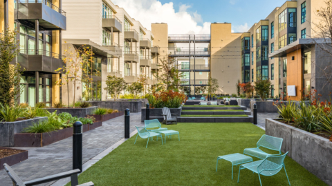 Aquatic Fourth Street. Photo: Trachtenberg Architects