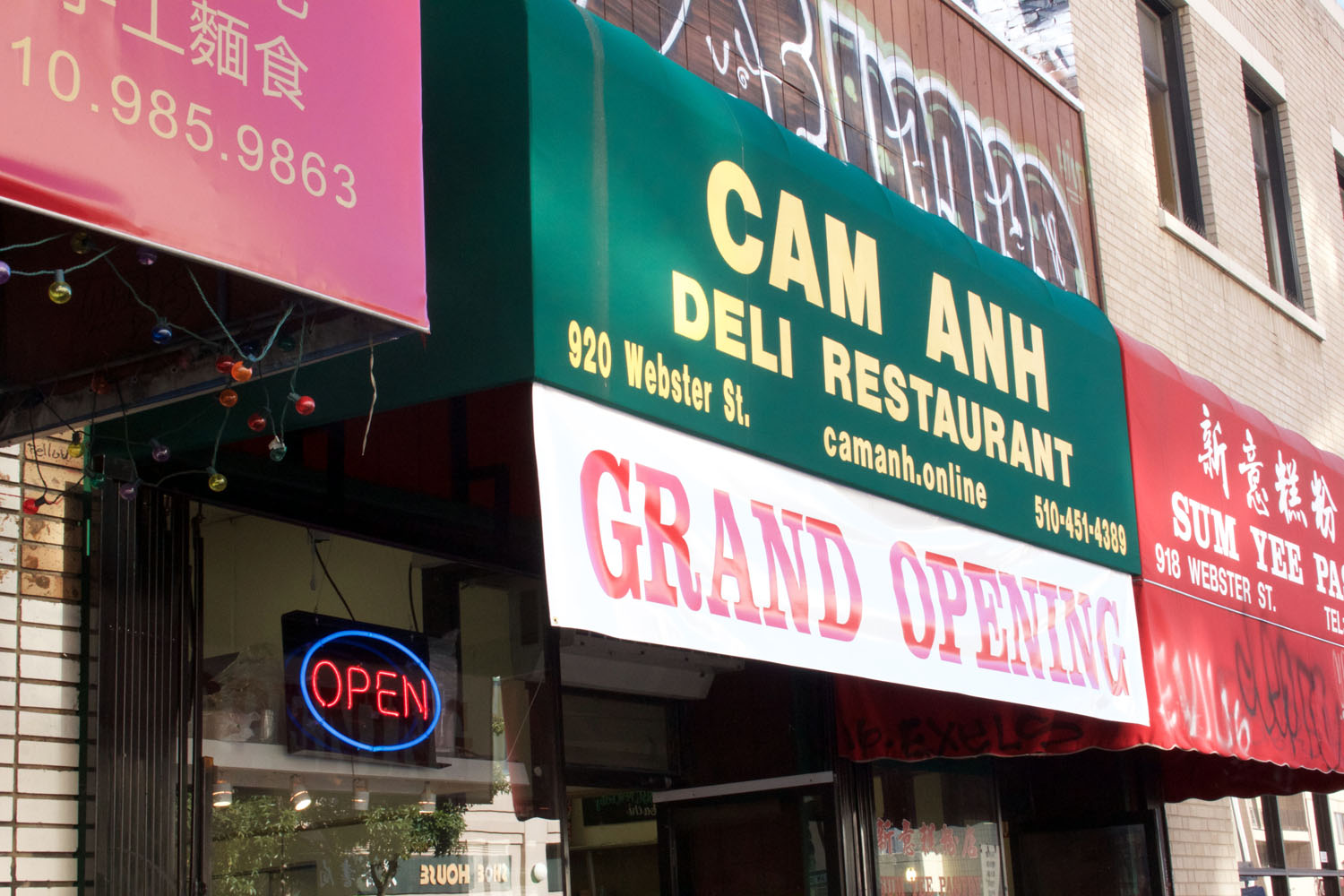Cam Anh rises from the former Cam Huong in Oakland Chinatown