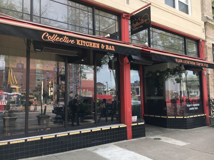 Collective, a new vegetarian and vegan restaurant in downtown Berkeley.