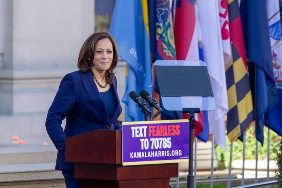 Kamala Harris kicks off her presidential candidacy in Oakland on Jan. 27, 2019. Photo: Katherine Bricceti