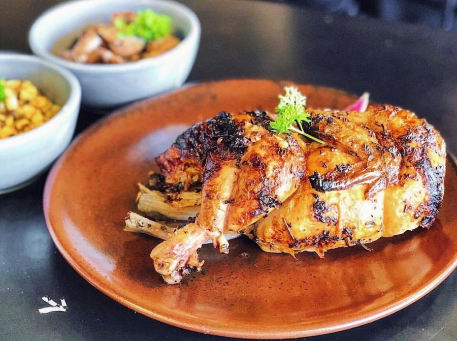 A half herb-roasted chicken from Papaito, which opened a new location in San Leandro in April 2019.