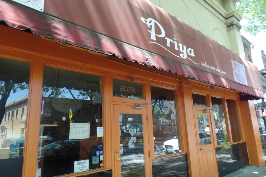 Priya in Berkeley closed in April 2019.